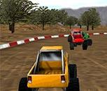 Игра на двоих 3Д гонки на машинах