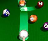 Игра бильярд в 3Д