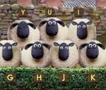 Игра баранчик Шон: Хор из овец