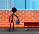 Игра баскетбол Стикменов