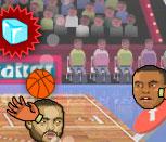Баскетбол головами на двоих