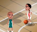 Баскетбол с драками