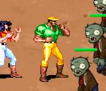 Бойцы против зомби