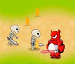 Игра большие герои 6 против скелетов