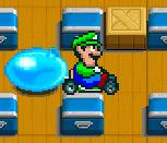 Марио-бомбермен на картинге