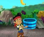 Игра Джейк и Пираты Нетландии собирают бананы