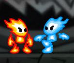 Драки Огня и Воды на двоих