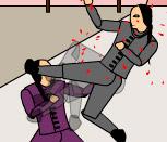 Игра драки самураев на двоих