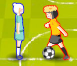 Игра две футболистки