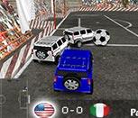 Игра футбол на машинах