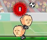 Игра футбол головами