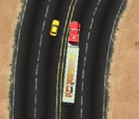 Игра гонка дальнобойщика по трассе