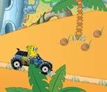 Игра гонки Губки Боба на машине