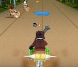 Игра гонки на Чимацыклах с Лего Чима