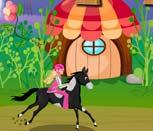 Игра для девочек гонки на лошадях