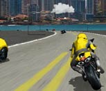 Игра на мотоциклах по городу