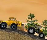 Игра гонки на тракторах с прицепом