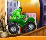 Игра гонки с Халком
