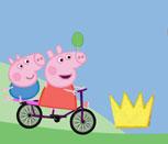 Игра гонки Свинки Пеппы