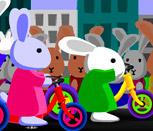 Гонки кроликов Блуни