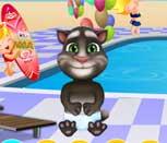 Игра говорящий кот Том на вечеринке