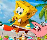 Игра Губка Боб выходит из воды
