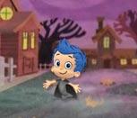 Игра Гуппи и пузырьки на Хэллоуин