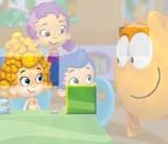 Игра Гуппи и пузырьки: Пазл плитка