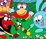 Игра хоккей со Смешариками