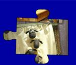 Игра баранчик Шон: Пазл для девочек