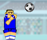 Игра с футболистами неваляшками на двоих