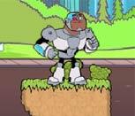 Игра Юные Титаны: Киборг на прогулке