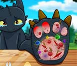 Игра Как Приручить Дракона: Лечим Беззубика