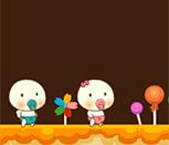 Игра конфетный дом