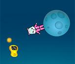 Игра кошка астронавт