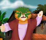 Игра Кот в Сапогах готовится на маскарад
