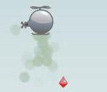 Игра квест на мини вертолёте