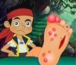 Игра лечим ногу Джейку