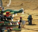 Игра Лего Чима: Оборона базы