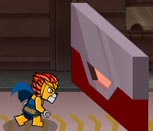 Лего Чима в чёрном туннеле