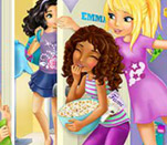 Игра Лего Френдс для девочек: Создай открытку