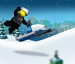Игра Лего Сити: Гонка на вездеходе