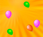Игра лопни шарик