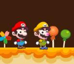 Марио в конфетном доме