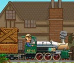 Игра машинист поезда