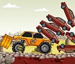 Игра машины на больших колесах