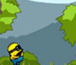 Игра Миньон бегает и собирает бананы