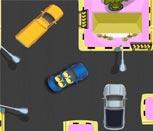 Игра Миньоны паркуют автомобиль