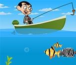 Игра Мистер Бин рыболов