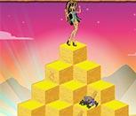 Игра для девочек бродилка Монстр Хай по пирамидам